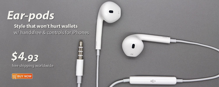 Ear-pods for iPhones