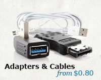 Cables and Adapters at FastTech